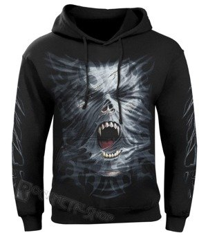bluza DARKSIDE UNLEASHED czarna, z kapturem