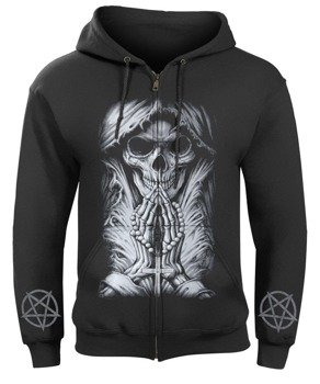 bluza DEATH PRAYER rozpinana, z kapturem