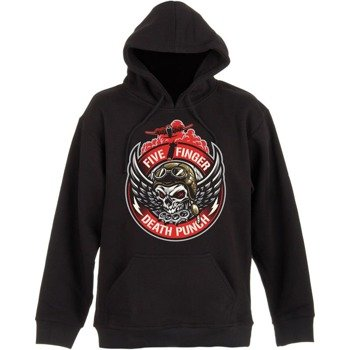 bluza FIVE FINGER DEATH PUNCH - BOMBER PATCH, kangurka z kapturem