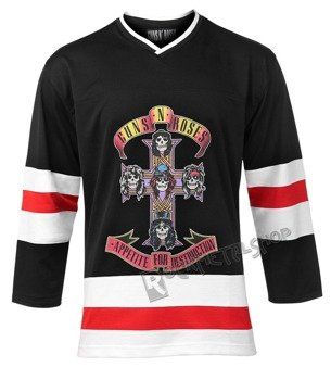 bluza GUNS N' ROSES - CROSS, hokejowa