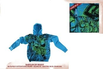bluza  IRON FIST(BABYLON -BLUE)