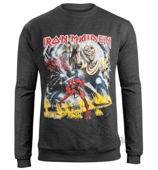 bluza IRON MAIDEN - NUMBER OF THE BEAST, bez kaptura