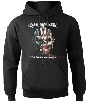 bluza IRON MAIDEN - THE BOOK OF SOULS, kangurka z kapturem