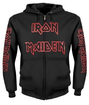 bluza IRON MAIDEN - THE NUMBER OF THE BEAST rozpinana, z kapturem
