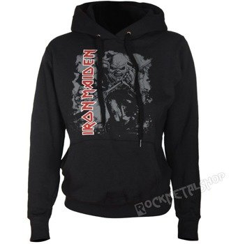bluza IRON MAIDEN - TROOPER, damska z kapturem