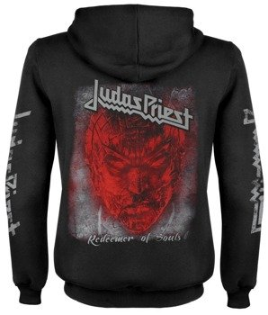 bluza JUDAS PRIEST - REDEEMER OF SOULS rozpinana, z kapturem