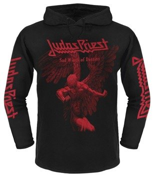 bluza JUDAS PRIEST - SAD WINGS OF DESTINY czarna, z kapturem