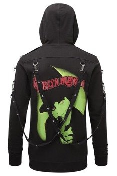bluza KILL STAR - SMELLS LIKE MANSON, rozpinana z kapturem