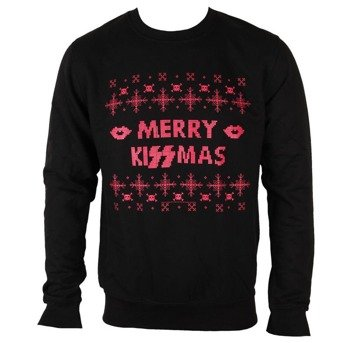bluza KISS - MERRY KISSMAS, bez kaptura