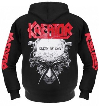 bluza KREATOR - ENEMY OF GOD rozpinana, z kapturem