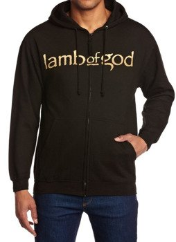 bluza LAMB OF GOD - ANIME, rozpinana z kapturem
