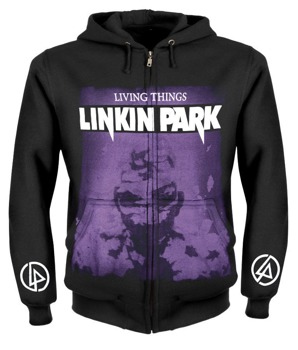 bluza LINKIN PARK - LIVING THINGS rozpinana, z kapturem