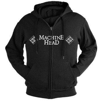 bluza MACHINE HEAD - MOTH, rozpinana z kapturem