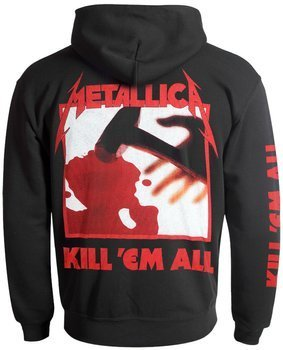 bluza METALLICA - KILL 'EM ALL rozpinana, z kapturem