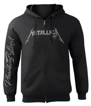 bluza METALLICA - PHANTOM LORD rozpinana, z kapturem