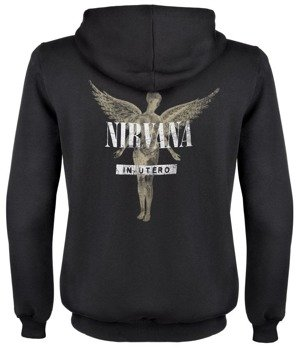 bluza NIRVANA - IN UTERO, rozpinana z kapturem