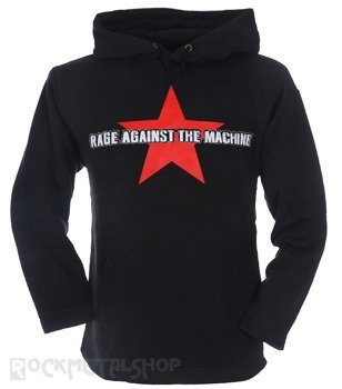 bluza RAGE AGAINST THE MACHINE czarna, z kapturem