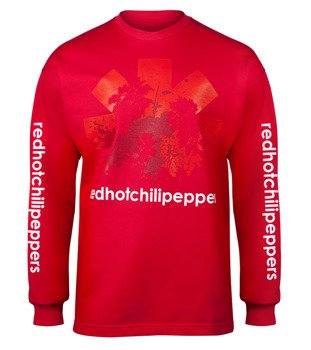 bluza RED HOT CHILI PEPPERS - LOGO bez kaptura