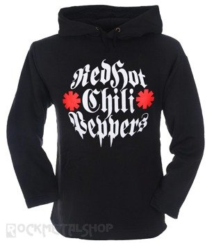 bluza RED HOT CHILI PEPPERS czarna, z kapturem