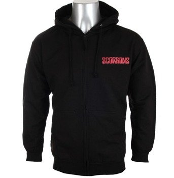 bluza SCORPIONS - BLACK OUT rozpinana, z kapturem