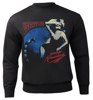 bluza SCORPIONS - SAVAGE AMUSEMENT, bez kaptura