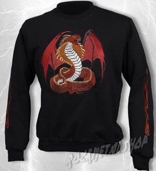 bluza SNAKE WITH WINGS bez kaptura