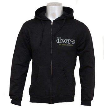 bluza THE DOORS - VENICE, rozpinana z kapturem