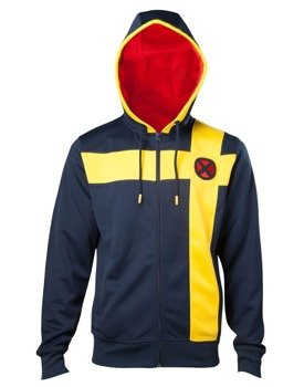bluza X-MEN - CYCLOPS (MARVEL), rozpinana z kapturem