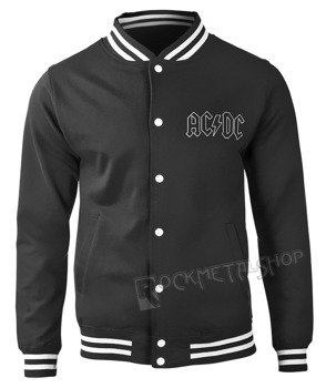 bluza/kurtka AC/DC - BACK IN BLACK, rozpinana