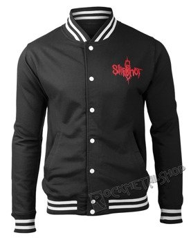 bluza/kurtka SLIPKNOT - LOGO & 9 POINT STAR, rozpinana