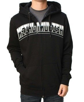 bluza rozpinana z kapturem METAL MULISHA - LOW LIFE czarna