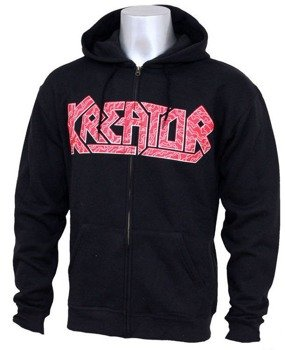 bluza z kapturem KREATOR - WARRIOR rozpinana