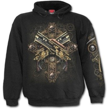 bluza z kapturem STEAMPUNK SKELETON