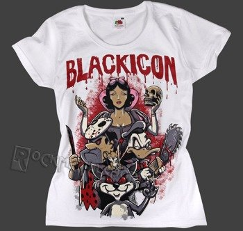 bluzka damska BLACK ICON - NIGHTMARE (DICON122 WHITE)
