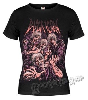 bluzka damska BLACK ICON - ZOMBIE (DICON095 BLACK)