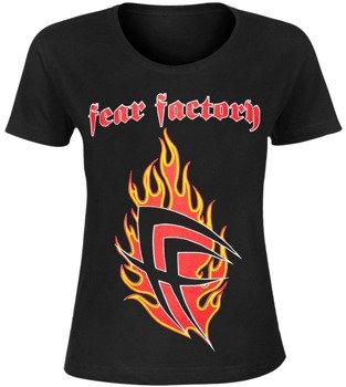 bluzka damska FEAR FACTORY - FLAME LOGO