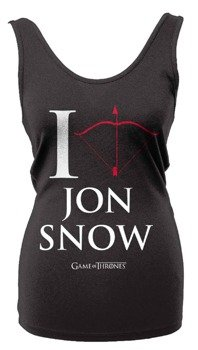 bluzka damska GAME OF THRONES - I LOVE JON SNOW