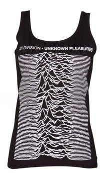 bluzka damska JOY DIVISION - UNKNOWN PLEASURES