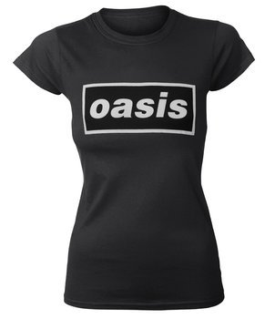 bluzka damska OASIS - DECCA LOGO black