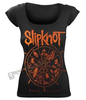 bluzka damska SLIPKNOT - THE WHEEL