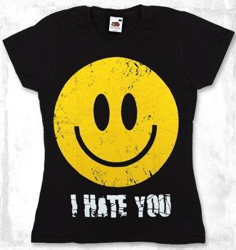 bluzka damska SMILEY - I HATE YOU