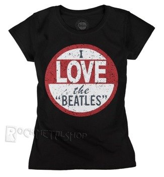 bluzka damska THE BEATLES - I LOVE THE BEATLES