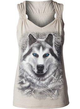 bluzka damska WHITE WOLF bez rękawów