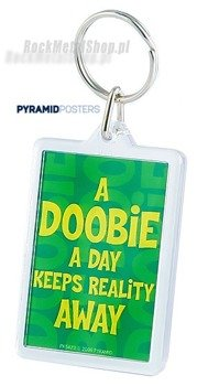 brelok do kluczy A DOOBIE A DAY KEEPS REALITY (PK5423)