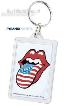 brelok do kluczy ROLLING STONES - LIPS - USA (PK5262)