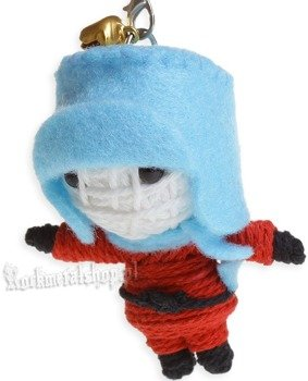 brelok laleczka VOODOO DOLL - COOL BOY blue