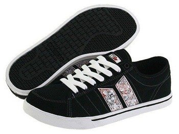 buty MACBETH - MANCHESTER (BLACK/CIRCUIT) 09'