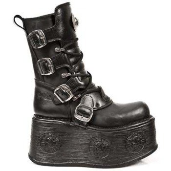 buty NEW ROCK ITALI NEGRO, SPACE NEGRO M.1473-S3