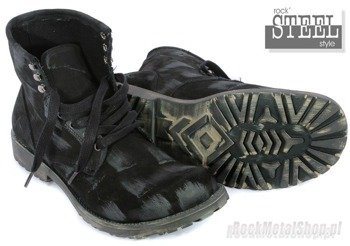 buty STEEL - BLACK (X-334)