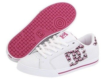 buty damskie DC- JOURNAL (WHITE/CRAZY PINK/WHITE)